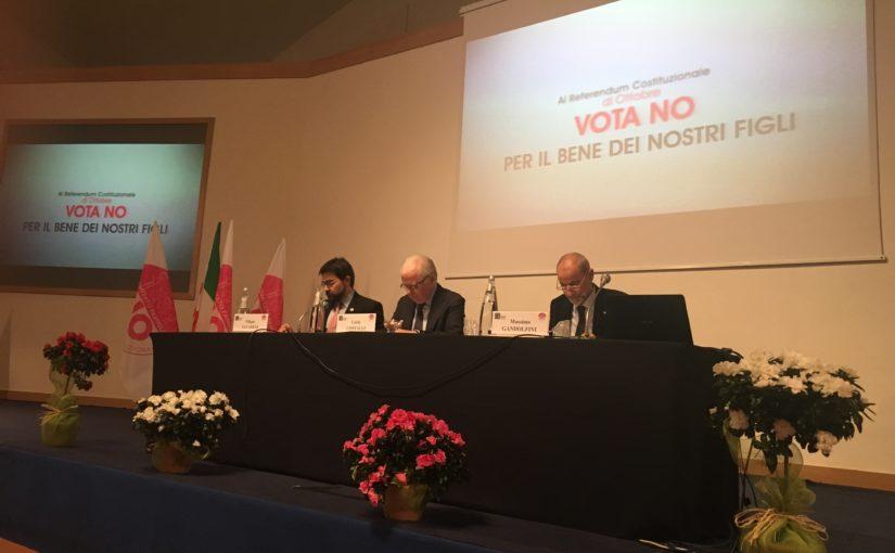 """UN """"NO"""" CATTOLICO AL REFERENDUM. ANCHE CONTRO LA TENTAZIONE DI UN NEO-COLLATERALISMO CLERICALE."""