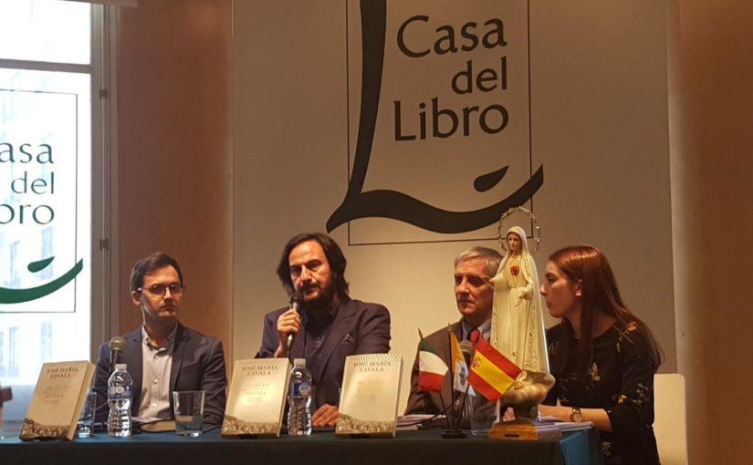 FATIMA. PRESENTAZIONE A MADRID. LA PERITA CALLIGRAFA NEGA CHE IL TESTO PUBBLICATO DA ZAVALA SIA UNA FALSIFICAZIONE.